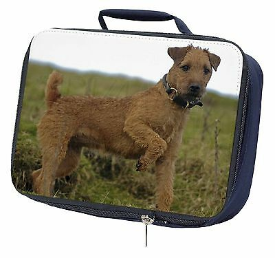 Lakeland Terrier Dog Navy Insulated Lunch Box, AD-LT1LBN