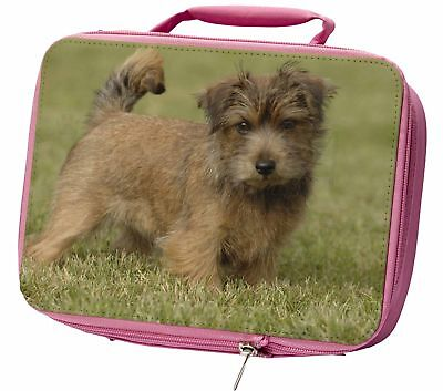 Norfolk Terrier Dog Insulated Pink Lunch Box, AD-NT1LBP