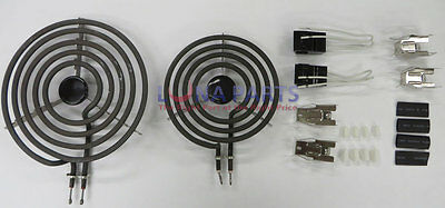 "MP21YA 8"" & MP15YA 6"" Range Stove Cooktop Burner Element With Receptacle"