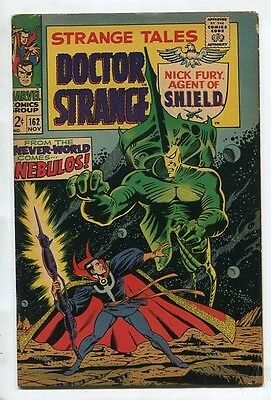 """Strange Tales #162 - """"FROM THE NEVER-WORLD COMES NEBULOS!"""" - (4.0) 1967"""