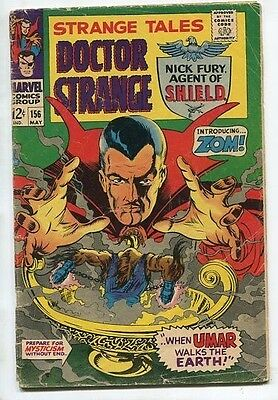 """Strange Tales #156 - """"Prepare for Mysticism Without End!"""" - (4.0) 1967"""