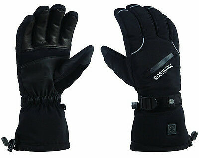 $200 Womens Rossignol Winters Fire Electric Battery Powered Heated Ski Gloves
