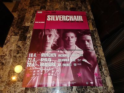 Silverchair Rare German Tour Poster Daniel Johns Ben Gillies Chris Joannou 1999