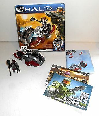 Halo Mega Bloks 96993 Brute Chieftain Charge With Box