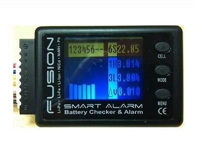 Logic RC FUSION Smart Alarm Lithium Battery Checker & Alarm 1-8 Cells FS-BC06