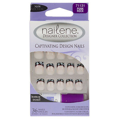 Nailene Designer Collection Faux Ongles - Punk Rock (71131)