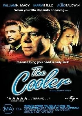 The COOLER DVD R4 William Macy Maria Bello Alec Baldwin NEW