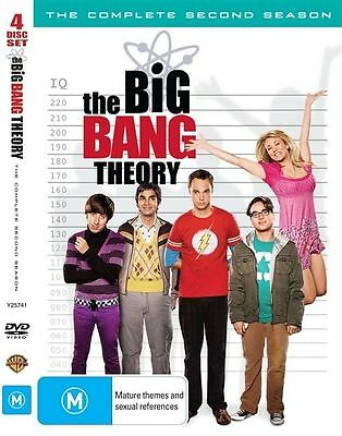 The BIG BANG THEORY  Complete Second Season [4 Disc] DVD Set  R2 NEW / Sealed