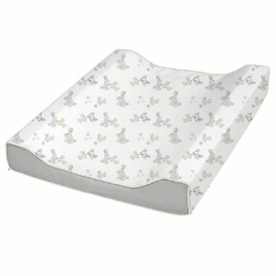 BabyDan Bunny Unisex Baby Changing Mat Grey Padded Soft Deluxe Large Waterproof