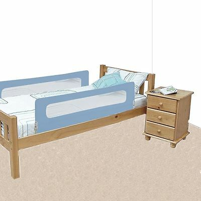 Safetots Extra Wide Double Sided Mesh Bed Rail Blue - Toddler Bed Guard