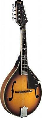 """Stagg M40S """"A"""" Style ALL Solid Spruce top Mandolin w/Maple back & Sides"""
