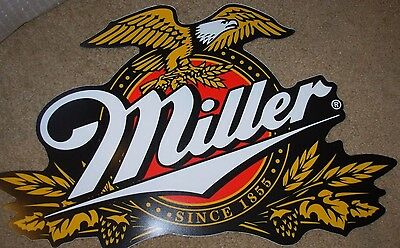 MILLER BREWING COMPANY lite classic logo STICKER SIGN tacker craft beer brewery