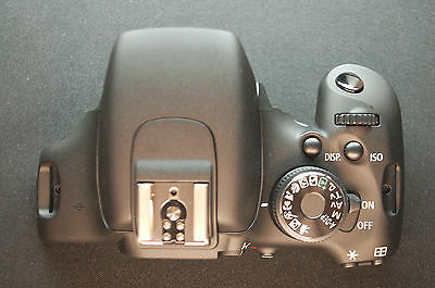 Original Canon EOS Rebel T3i 600D Top Cover Authentic Replacement Part OEM A0016