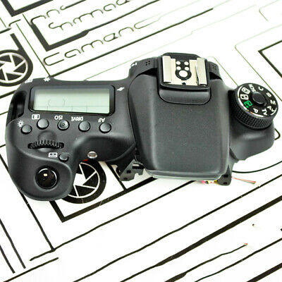 CANON EOS 70D TOP COVER ASSEMBLY PART REPAIR Part OEM With LCD Screen