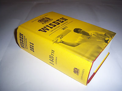 Wisden Cricketers' Almanack 2011 - Original Hardback - Cricket Annual / Book