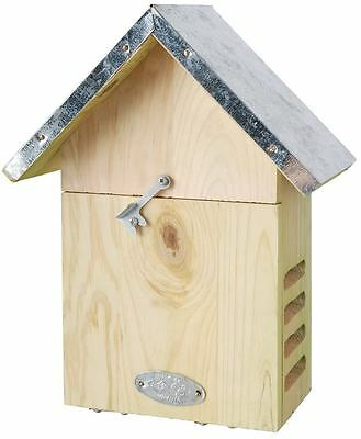 Lady Bug Box Insect House and Shelter for Ladybugs Metal Roof