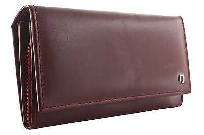 Suvorna HIDE Genuine Cow Leather Women's / Ladies Wallet/Purse ID Holder, Bifold