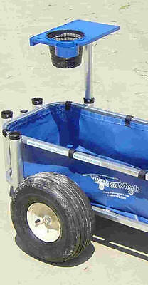 CPI Reels On Wheels Fishing Cart Cutting Board Only 6510