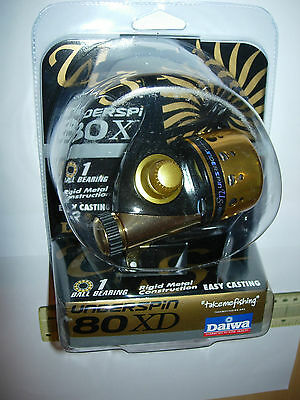 DAIWA UNDERSPIN US80XD-CP Spincast Fishing Reel 6/8/10lb