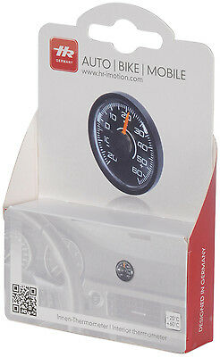 RICHTER Auto KFZ Innen Thermometer 46mm rund HR-IMOTION 10010001 Made in Germany
