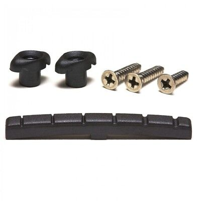 Graphtech Pt-5001-00 Black Tusq Strat/Tele Lubricated Nut And String Retainer
