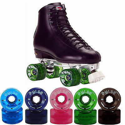 Sailin Away Outdoor High Top Roller Skates - Atom Pulse Wheels Men Size 4-13
