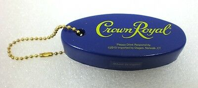 Crown Royal Whiskey Purple FLOATING FOAM KEY CHAIN  Sailing Fishing Water Skiing