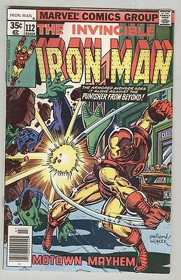 Invincible Iron Man #112 July 1978 FN