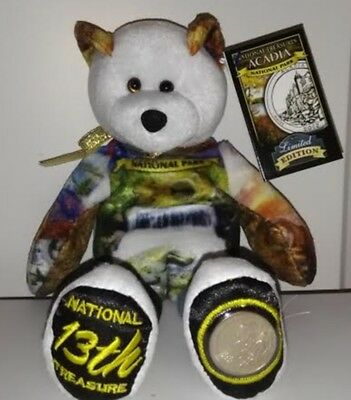 Acadia Maine National Park Coin bear by Limited Treasures