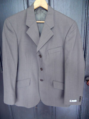 NWT RJ CLASSICS National Style Show Jacket Hunt Coat Olive Gray Mens 38R 38 R