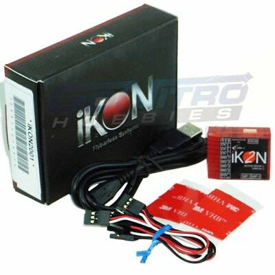 iKON2 Flybarless System with Cable Set & Mounting Pad