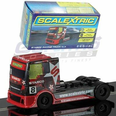 Scalextric C3609 Starco Red Racing Truck NO.8 DPR 1/32 Slot Car