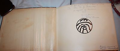 1 of kind Chinese silhouette book African American Reverend Howard Thurman