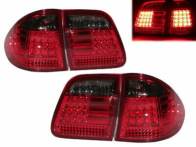 W210/T210 1995-2002 WAGON LED Tail Rear Light RED/SMOKE for Mercedes Benz
