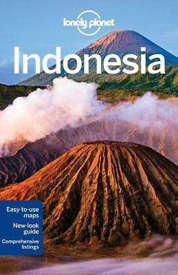 NEW Indonesia By Lonely Planet Travel Guide Paperback Free Shipping