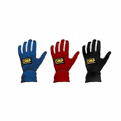 OMP New Rally Flame Resistant Gloves - Brisca/F1/F2/Stock/Oval/Banger Racing
