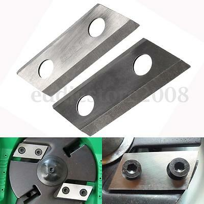 1 Pair Garden Shredder Chipper Blades Cutters Fit For Eco ES1600 McCulloch MCS20