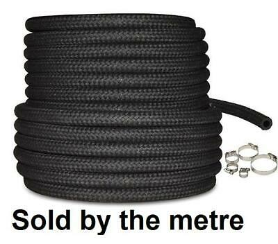 """CLIPS AD11 CLASSIC MINI STAINLESS STEEL BRAIDED FUEL PIPE 3/"""" LONG 1//4/"""" BORE INC"""