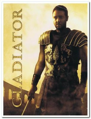 GLADIATOR - Original 2000 Press Kit - RUSSELL CROWE  - 3 Stills, 4 Slides, CD
