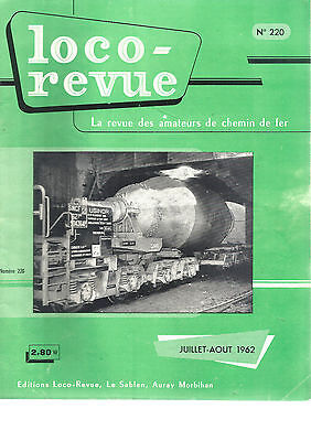 Loco Revue N°220 Jufres-Ville/jufres-Port / Wagon Tombereau A Toit Coulissant