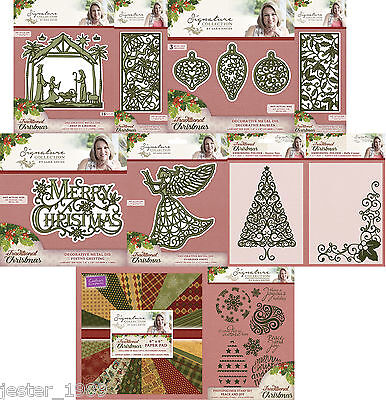 Crafters Companion - TRADITIONAL CHRISTMAS -  SARA SIGNATURE COLLECTION
