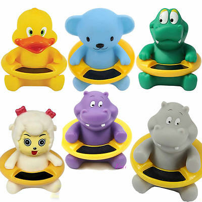 Baby Infant Bath Tub Water Temperature Tester Toy Animal Shape Thermometer