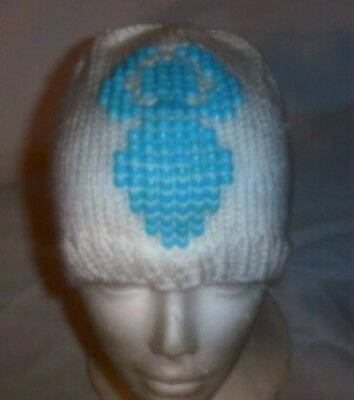 Hand Knit ~ Beaded Beanie Hats ~ Goddess - Made to Order