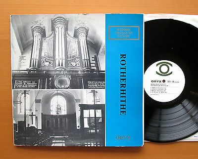 Historic Organs Of Europe ROTHERHITHE Nicholas Danby ORYX 511 Mono NM/EX