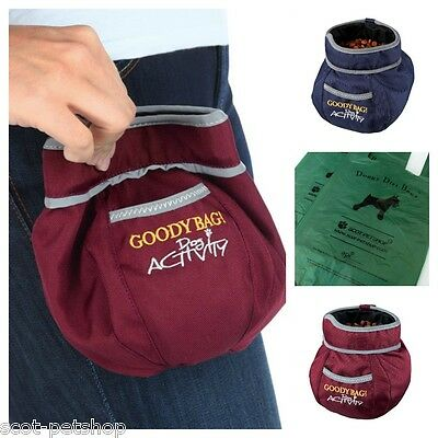 Dog Activity Goody Bag Snack Bag With 50 Scot-Petshop Biodegardable Poop Bags
