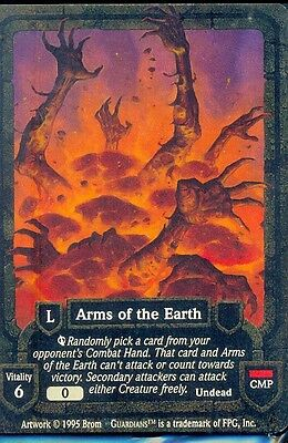 Guardians Ccg Arms Of The Earth  Rare Vo