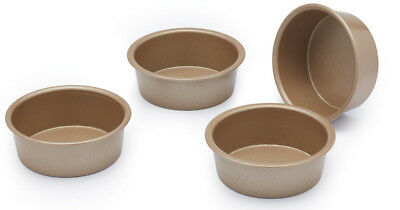 Paul Hollywood Bakeware Set of 4 Non Stick Mini Round Baking Tins