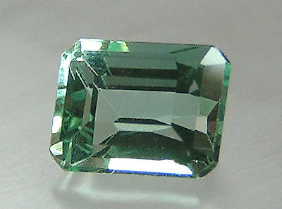 1.54Ct RARE COLLECTABLE ULTRA CLEAN! COLOMBIAN EMERALD! 7.56x5.86x4.81mm/297/FR