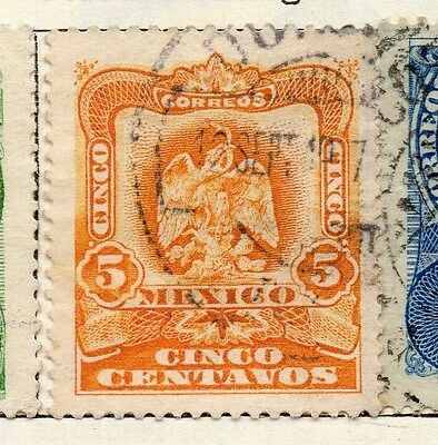 Mexico 1903 Early Issue Fine Used 5c. 074485