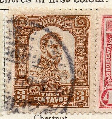 Mexico 1910 Early Issue Fine Used 3c. 074489